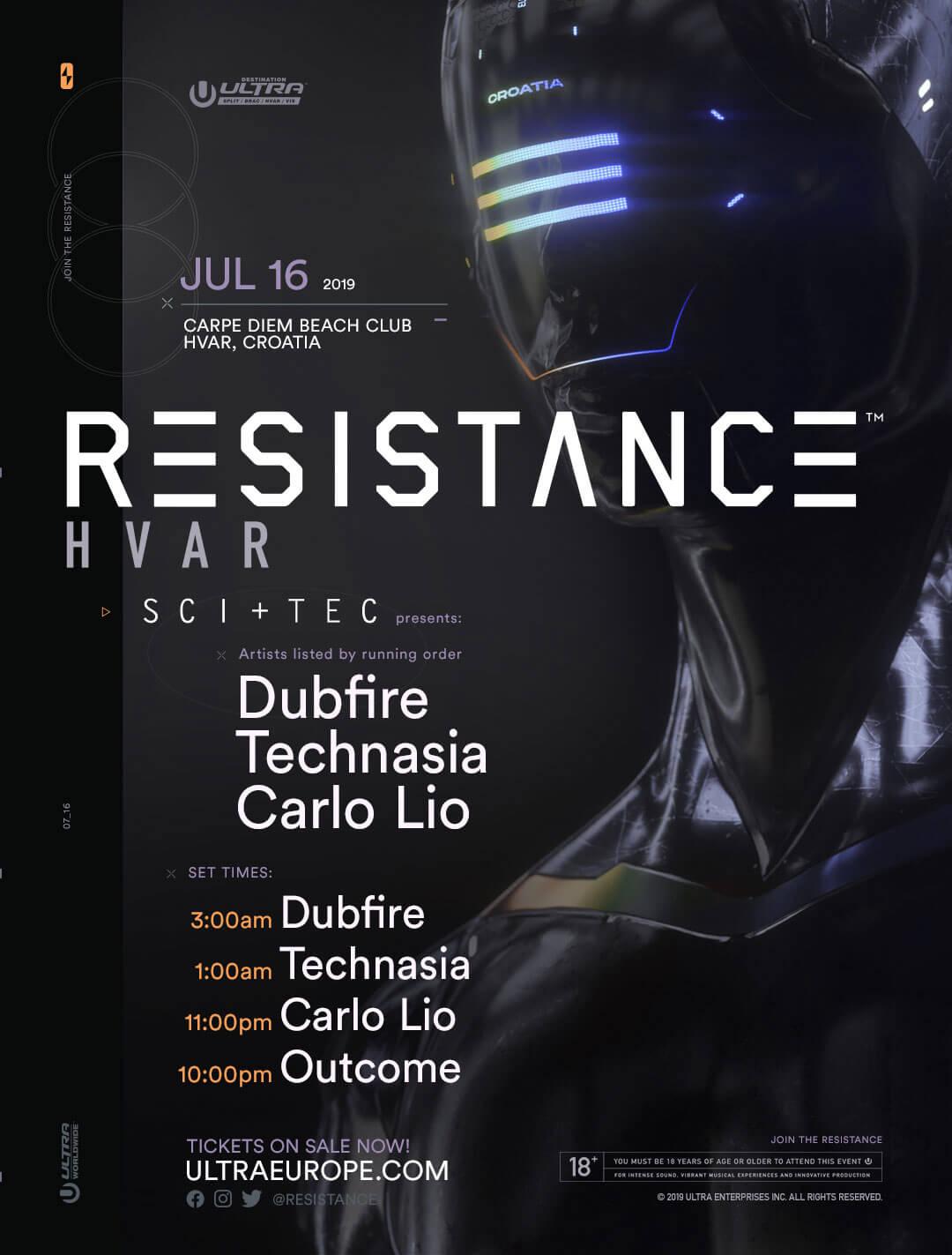 resistance-hvar-lineup-times-2019