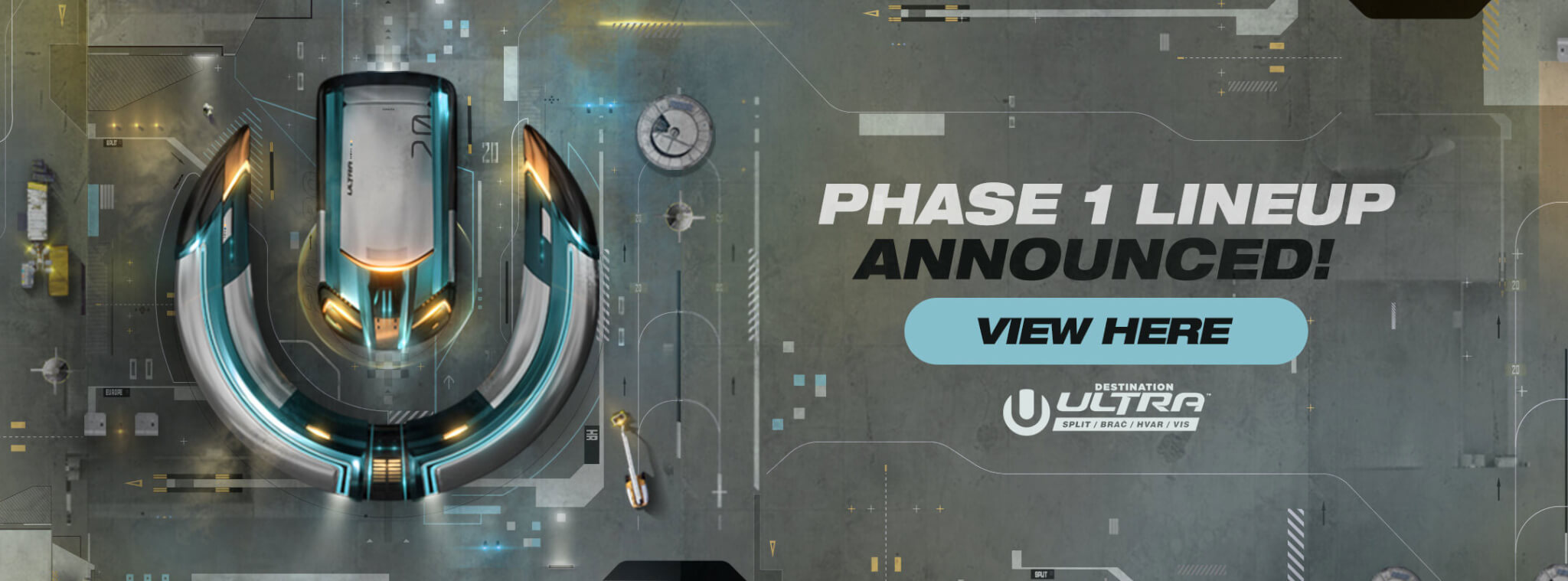 View the Ultra Europe 2020 Phase 1 Lineup